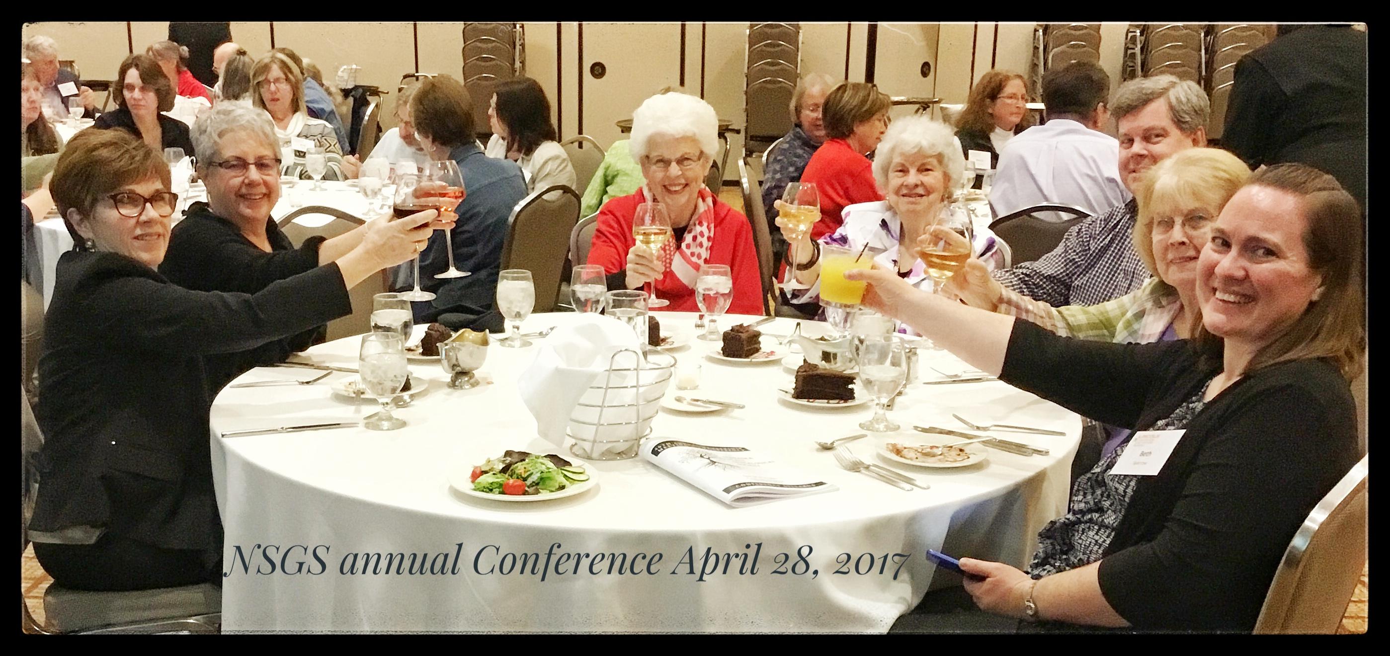 NSGS 2017 Banquet