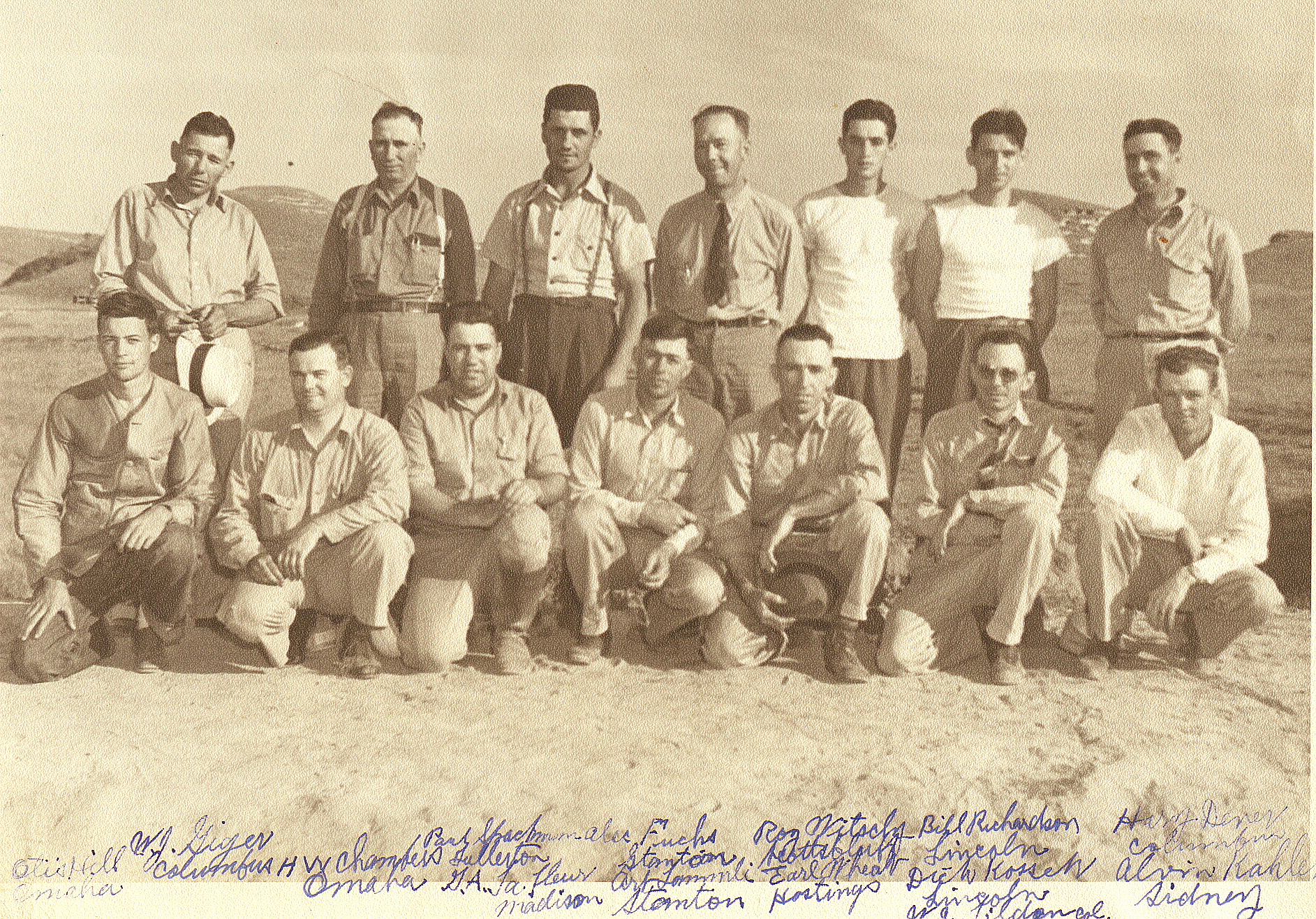 1940 State Rifle Team